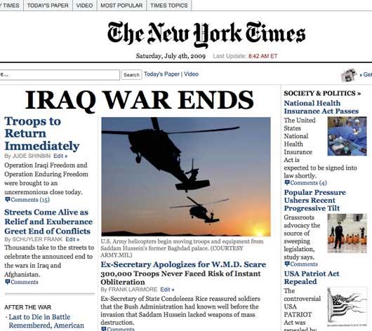 Yes Men NY Times