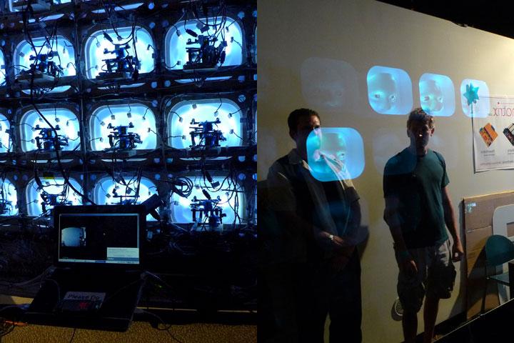Robotic Vision Sculpture by mondomatrix