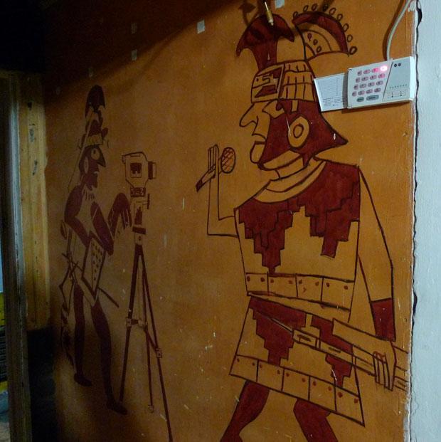 Señal 3 interior mural