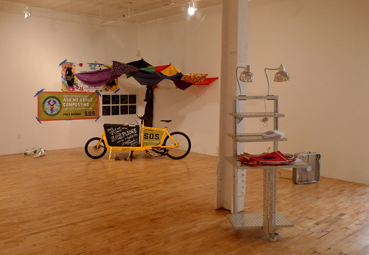 Mobility exhibition at Momenta
