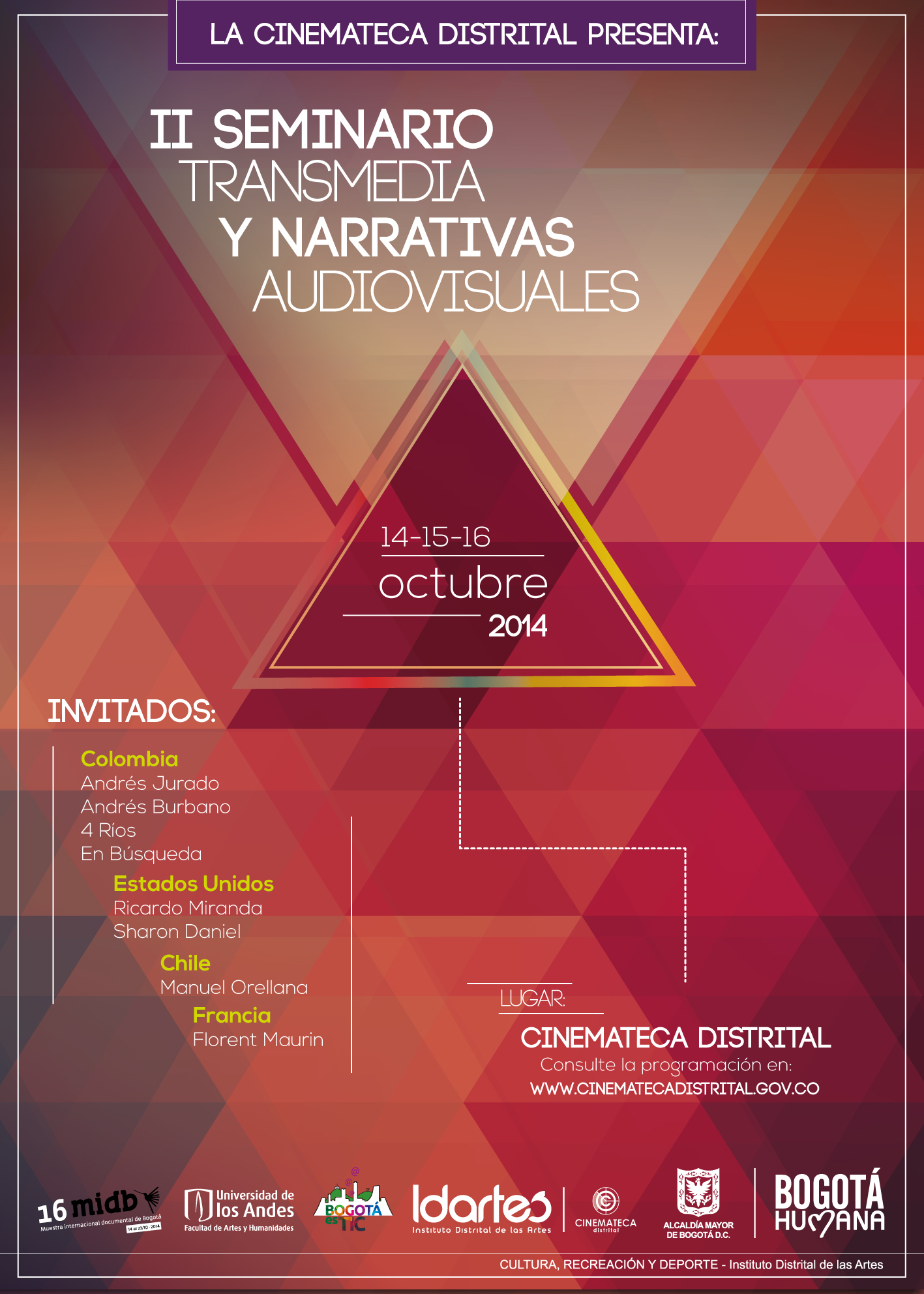 II Seminario Transmedia y Narrativas Audiovisuales