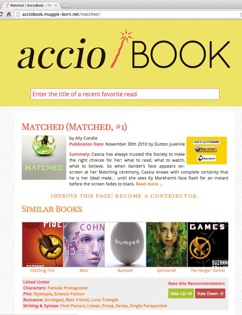 accioBook