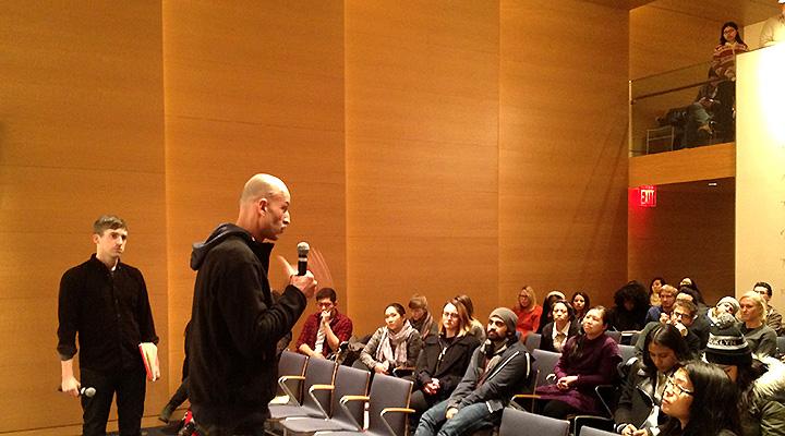 Charif Kiwan speaking