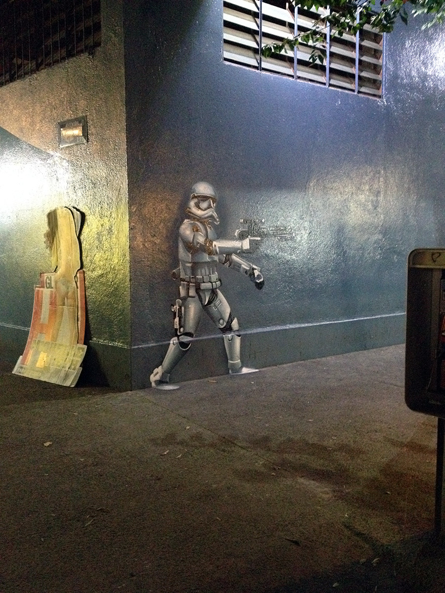 Stormtrooper in Condesa