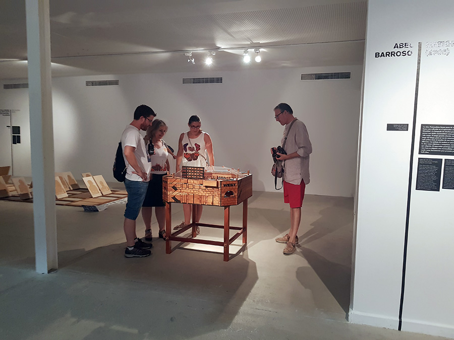 NEGOCIO at el Centro Cultural Las Cigarreras de Alicante