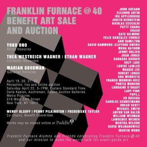 FRANKLIN FURNACE @ 40